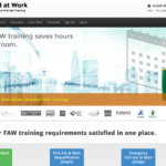 Blended First Aid at Work online training launched
