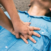 Adult basic life support